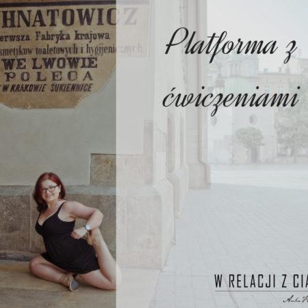 Platforma z ćwiczeniami