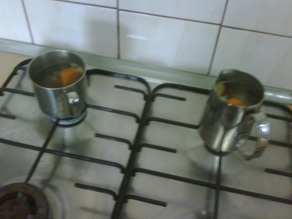 Gotowanie batatów
